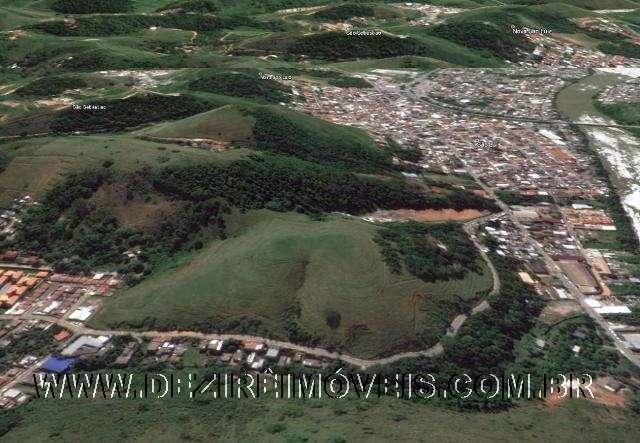 Vista aérea do terreno