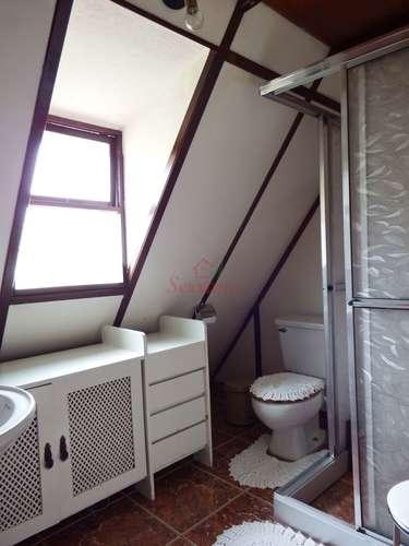 Banheiro do chalé