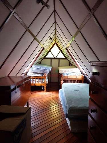 Dormitório do chalé