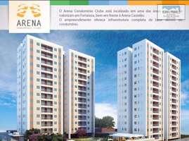 Arena Condomínio Clube, Apartamento no Castelão