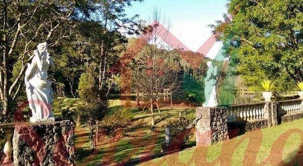 Jardim com estatuas