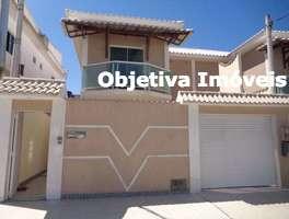 Casa duplex independente, 3 quartos, 1 vaga, 1ª locação, Jardim Flamboyan - Cabo Frio