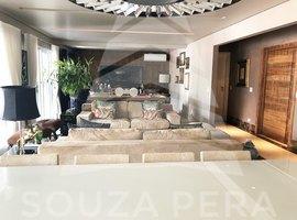 Belíssimo apartamento com 293 metros, 3 suítes e 5 vagas, a venda não Vila Nova Conceição!
