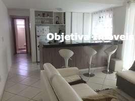 Apartamento com 1 quarto, 1 vaga, mobiliado, Braga - Cabo Frio - RJ