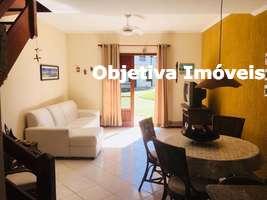 Casa duplex mobiliada, 2 suítes, 1 vaga, Peró - Cabo Frio