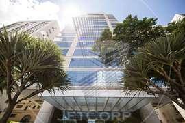 Sala comercial corporativa para locação na região da Faria Lima - 341 m²