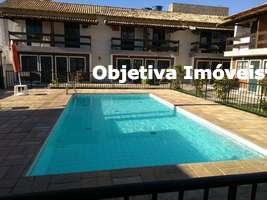 Casa duplex com 2 quartos, 1 vaga, Palmeiras - Cabo Frio - RJ