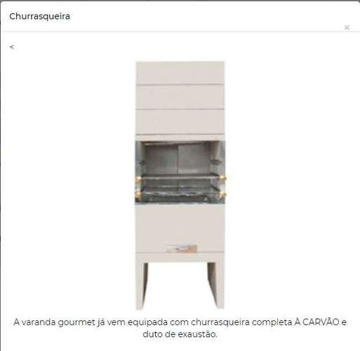 8,9 Varanda Gourmet com Churrasqueira