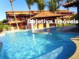 Casa com 2 suítes, 1 vaga,mobiliada, deck para canal navegável, Ogiva - Cabo Frio - RJ