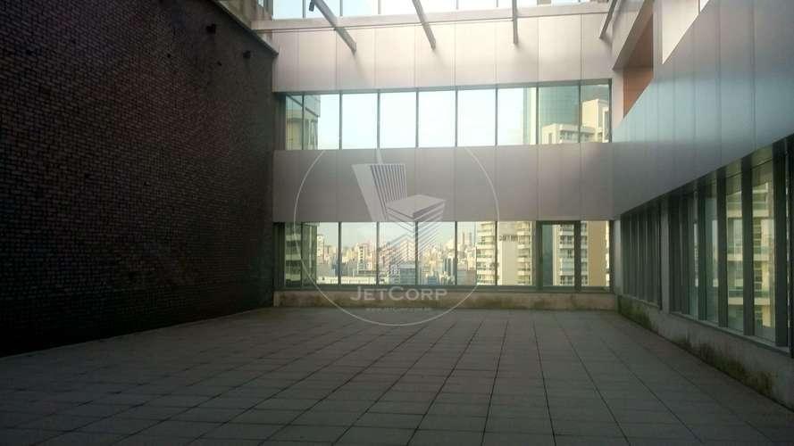 Sala Comercial Corporativa próxima ao metrô - aluguel - 909 m² (cobertura com área descoberta)