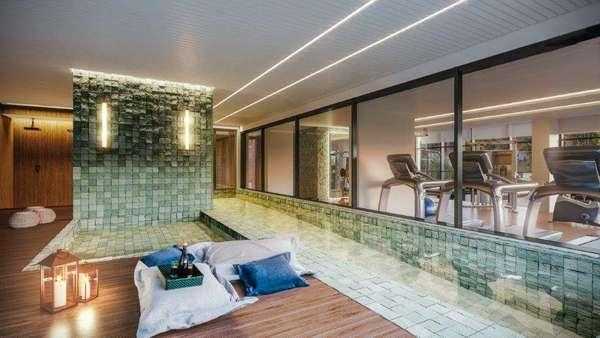 Lançamento de Apartamentos e Coberturas (3 a 4 Suítes) à Venda no Ed. Denmark no Cabral - Curitiba