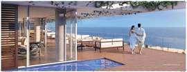 Grand Hyatt, frontal a praia da Barra da Tijuca, Apartamento a venda.