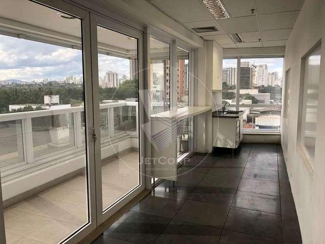 Sala comercial corporativa próxima ao metrô - locação - 296 m²