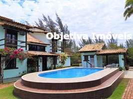 Casa com 2 quartos, 1 vaga, mobiliada, Ogiva - Cabo Frio - RJ