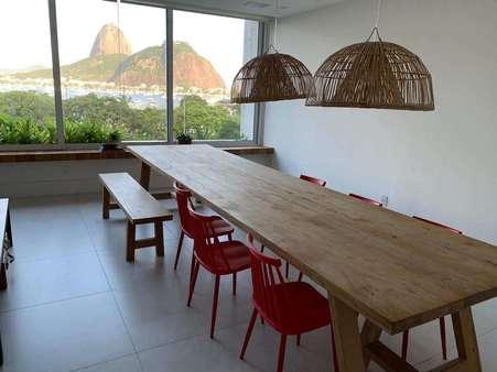 Alugo Apartamento Reformado por Arquiteto na Praia de Botafogo