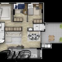 Apartamentos a Venda 2 e 3 Quartos (1 Suíte) Capão Raso - Curitiba