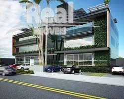 Prédio Novo para Locação ao lado da Praça Panamericana! Elevador panorâmico, lajes integráveis, rooftop e estacionamento coberto.