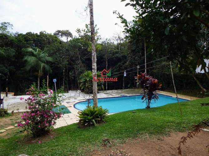Vista para piscina