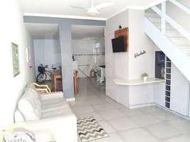 Linda casa duplex, 2 quartos, 1 vaga, Palmeiras, Cabo Frio - RJ