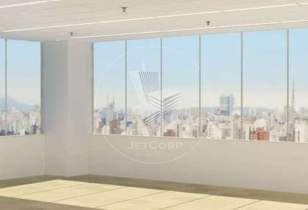 Paulista - andar comercial corporativo mobiliado próximo ao metrô - locação - 577 m² + terraço
