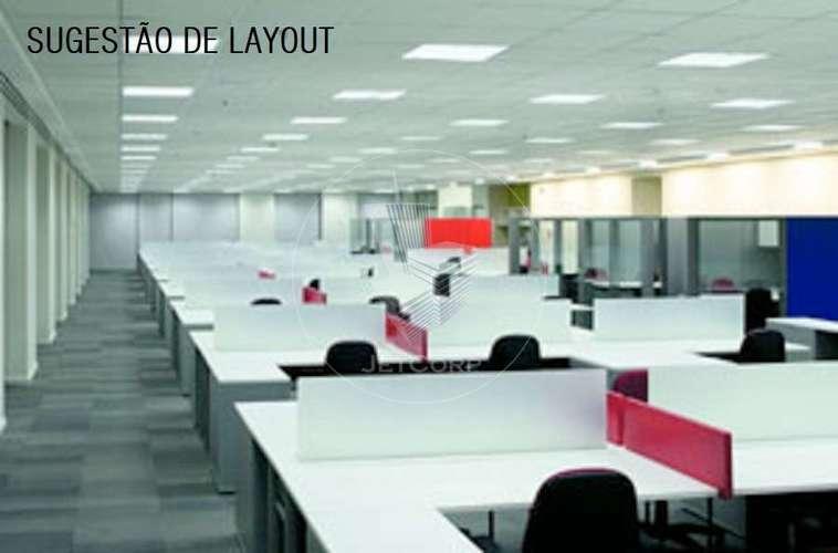 Sala Comercial Corporativa Triple A - Faria Lima - locação - 1.805 m²