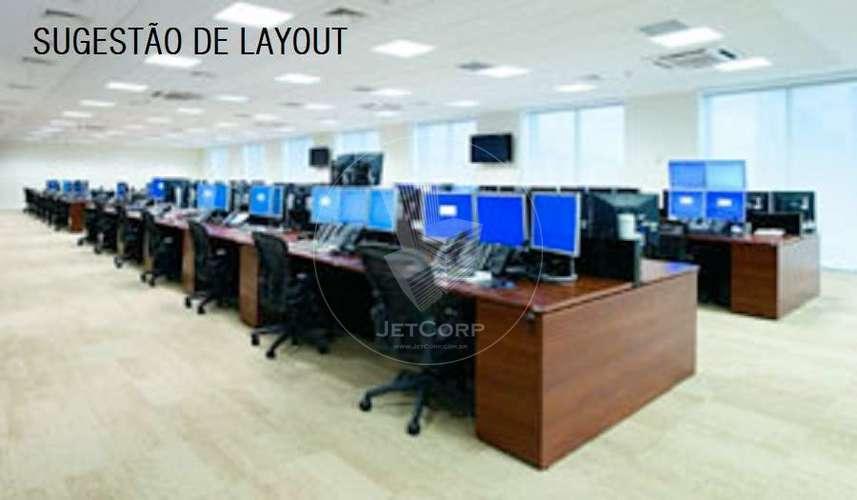 Andar Comercial Corporativo Triple A - Faria Lima - locação - 1.805 m²- 1.805 m²