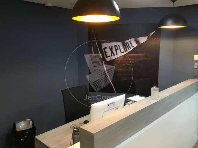 Sala Comercial Corporativa Mobiliada - Esquina JK x Faria Lima - Locação - 787 m²