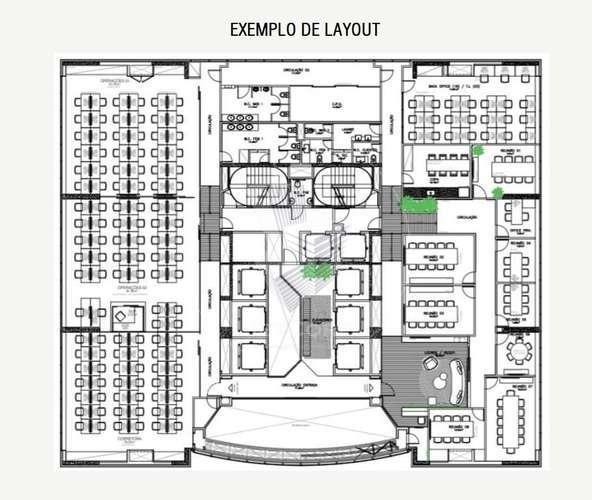 Lajes Corporativas com Divisórias - Esquina JK x Faria Lima - Locação - 1.574 m²