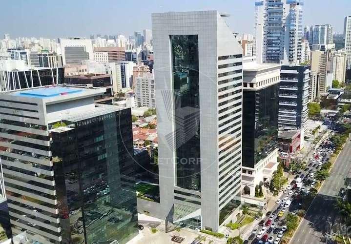 Andares Comerciais Corporativos com Divisórias - Esquina JK x Faria Lima - Locação - 1.574 m²