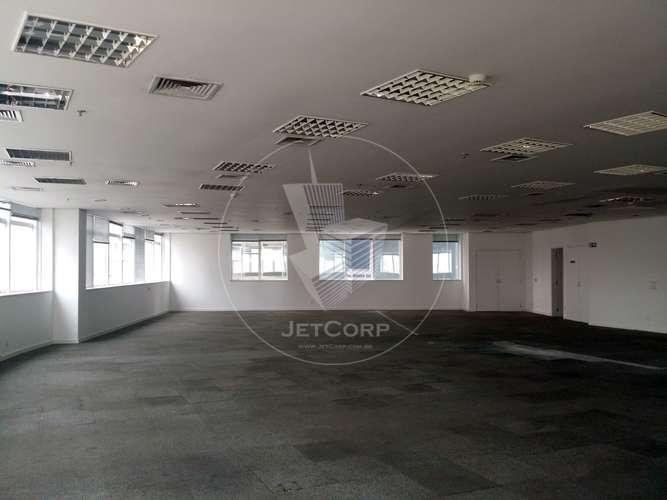 Sala comercial corporativa para locação na região da Paulista - metrô - 483 m²