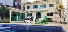 Casa duplex independente, 4 quartos, 7 vagas, a 800 metros do shopping Park Lagos, Portinho - Cabo Frio - RJ