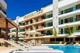All Suites Cobertura Duplex 1 Suite 2 Salas Terraço Varanda 1 Vaga 115m². Itaipava. RJ.