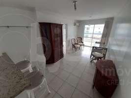 Apto linear, 1 quarto, 1 vaga, 60 m², semi-mobiliado, Braga, Cabo Frio - RJ
