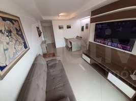 Apartamento linear, 2 quartos, 1 vaga, semi-mobiliado, Braga - Cabo Frio - RJ